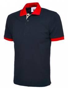 Contrast Polo Shirt - UC107Q