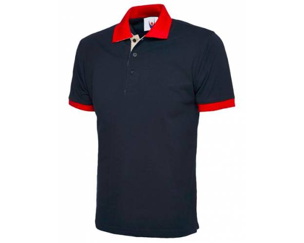 Uneek Contrast Polo Shirt - UC107Q