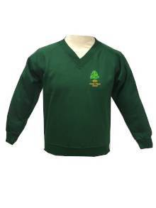 AJ517 - Forest V Neck Jumper