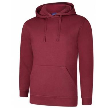 Uneek Deluxe Hooded Sweatshirt - UC509Q