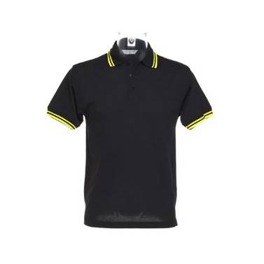 Kustom Kit Tipped Collar Polo - KK409Q