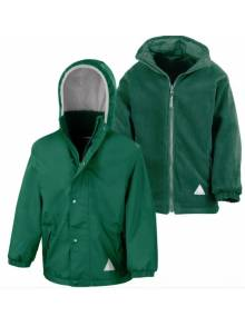 AJ517 - Result Bottle Green Children's Reversible StormDri 4000 Fleece Jacket