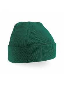 AJ517 - Bottle Green Beechfield Junior Original Cuffed Beanie