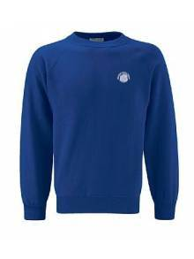 AJ007 - Deep Royal Crew Neck Sweatshirt - 3SR
