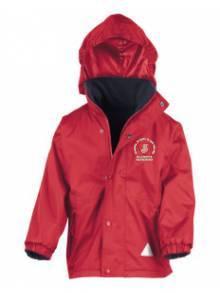 AJ998 - Children's Red Reversible Storm Stuff Jacket