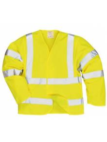 Hi-Vis Jacket Flame Resistant Finish - FR73Q