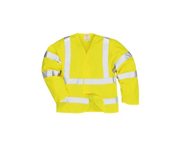 Portwest Hi-Vis Jacket Flame Resistant Finish - FR73Q