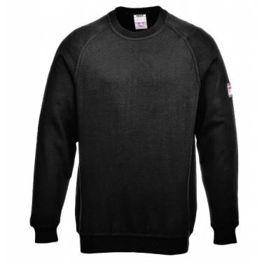 Portwest FR Antistatic Long Sleeve Sweatshirt - FR12Q
