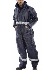 COLDSTAR FREEZER COVERALL NAVY BLUE - CCFCNQ