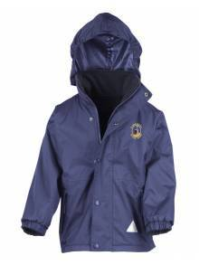 AJ930 - Children's Navy Reversible Storm Stuff Jacket