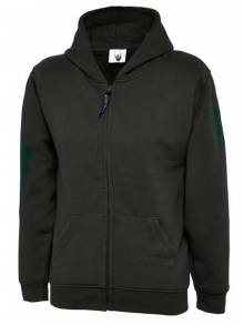 Childrens Classic Full Zip Hooded Sweatshirt - UC506Q