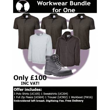 Workwear Bundle For One - W6BW