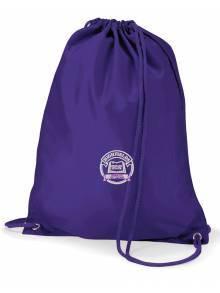 AJ954 - Purple Quadra Gymbag