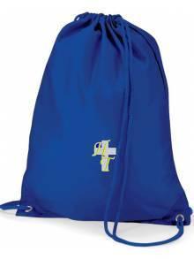 AJ576 - Royal Blue Gym Sack