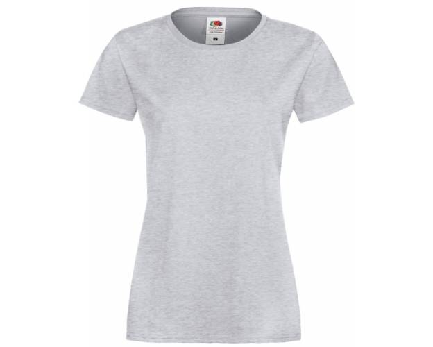 Fruit Of The Loom Lady Fit Sofspun Tee Shirt - 61414Q