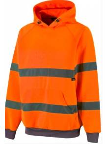 Hi Vis Hooded Sweatshirt - TSW13(G)Q