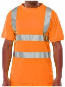 Hi-Vis Crew Tee Shirt - BSCNTSQ