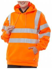 Hi-Vis Hooded Sweatshirt - BSSSHQ