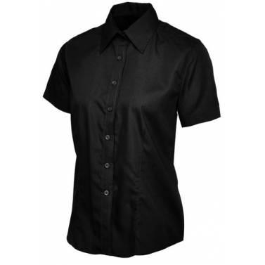 Uneek Ladies Poplin Half Sleeve Shirt - UC712Q
