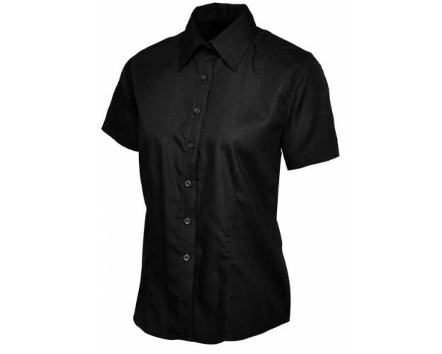 Uneek Ladies Poplin Half Sleeve Shirt - UC712Q