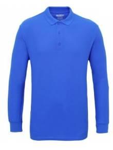 Gildan Premium Cotton Long Sleeve Double Pique Polo - GD048Q