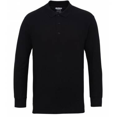 Gildan Premium Cotton Long Sleeve Double Pique Polo - GD048Q