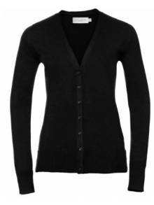Ladies V-Neck Knitted Cardigan - 715F