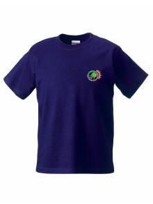 AJ864 - Purple Tee Shirt
