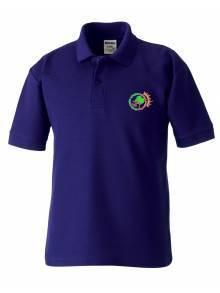 AJ864 - Purple Polo Shirt