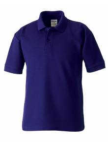 AJ864 - Purple Polo Shirt