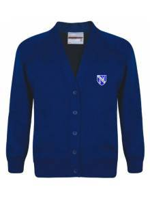 AJ012 - Royal Blue Cardigan - SWC