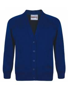 AJ012 - Royal Blue Cardigan - SWC