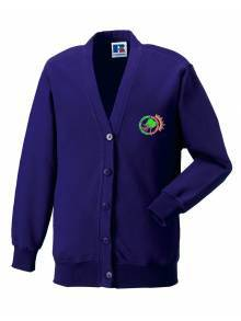 AJ864 - Purple Cardigan
