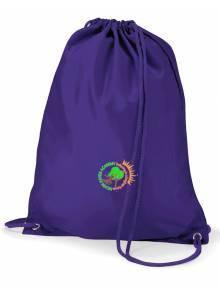 AJ864 - Purple Gym Bag