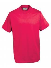 AJ840 - Champion Tee Shirt Red