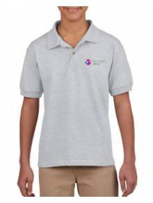 AJ838 - Sports Grey Child Polo