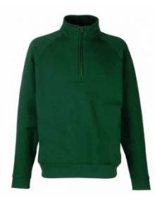 Fruit Of The Loom Men's Premium Zip Neck Sweat - 62032Q
