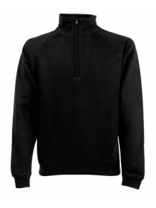 Fruit Of The Loom Men's Classic Zip Neck Sweat - 62114Q