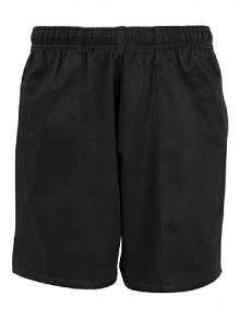 Boys Black Honeycombe Shorts