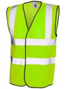 Hi-Vis Safety Wastecoat - UC801Q