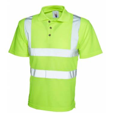 Uneek Hi-Vis Polo Shirt - UC805Q