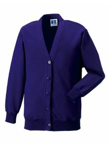 Purple Cardigan - J273B