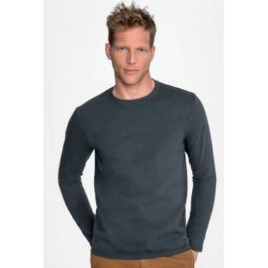 SOL's Imperial Long Sleeve Mens Tee Shirt - 02074