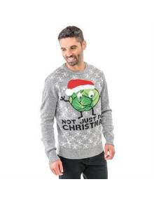 Adults Sprouts Not Just For Christmas Jumper - CJ004