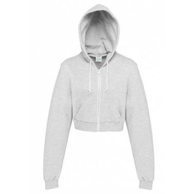AWDis Girlie Cropped Zoodie - JH056