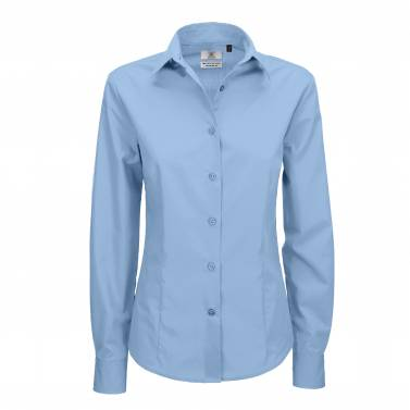 B&C Smart Long Sleeve Shirt - B704F