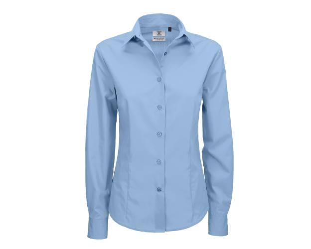 B&C Smart Long Sleeve Shirt - B704F