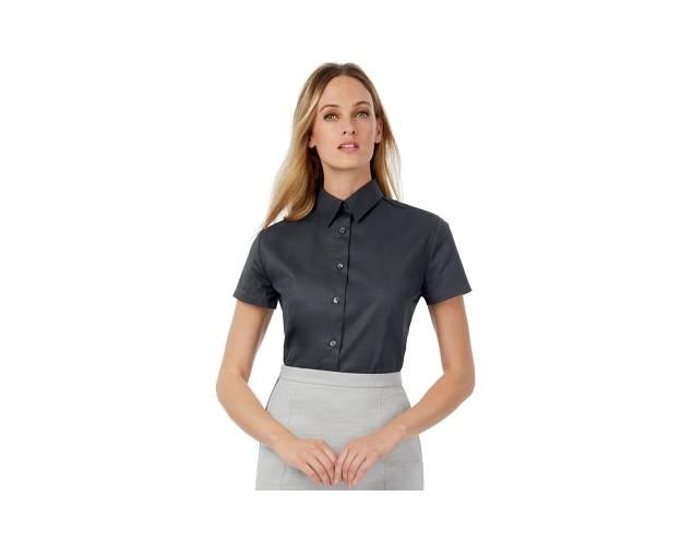 B&C Collection Womens Sharp Short Sleeve Blouse - B713F