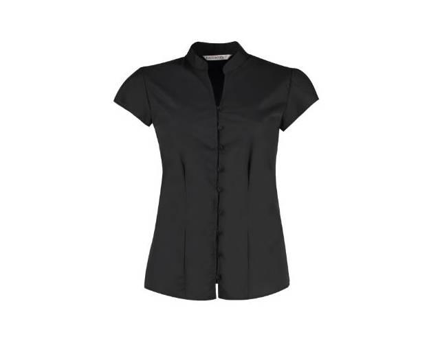 Kustom Kit Mandarin Collar Blouse - KK727