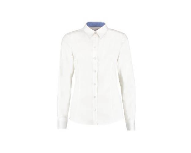 Kustom Kit Contrast Premium Oxford Shirt - KK790
